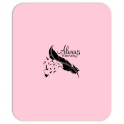 always and forever for light Mousepad | Artistshot