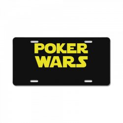 poker wars License Plate | Artistshot