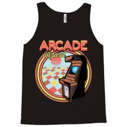 arcade wizard for dark Tank Top | Artistshot