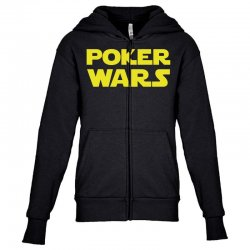 poker wars Youth Zipper Hoodie | Artistshot