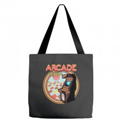 arcade wizard for dark Tote Bags | Artistshot