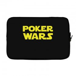 poker wars Laptop sleeve | Artistshot