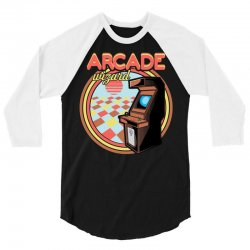 arcade wizard for dark 3/4 Sleeve Shirt | Artistshot
