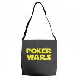 poker wars Adjustable Strap Totes | Artistshot