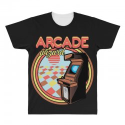 arcade wizard for dark All Over Men's T-shirt | Artistshot