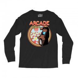 arcade wizard for dark Long Sleeve Shirts | Artistshot