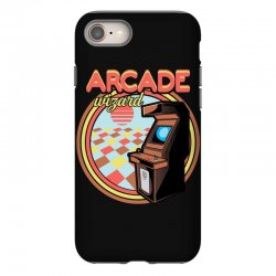 arcade wizard for dark iPhone 8 Case | Artistshot