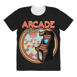 arcade wizard for dark All Over Women's T-shirt | Artistshot