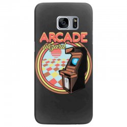 arcade wizard for dark Samsung Galaxy S7 Edge Case | Artistshot