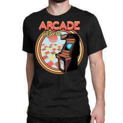 arcade wizard for dark Classic T-shirt | Artistshot