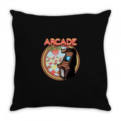 arcade wizard for dark Throw Pillow | Artistshot