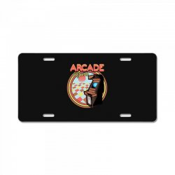 arcade wizard for dark License Plate | Artistshot