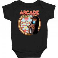 arcade wizard for dark Baby Bodysuit | Artistshot