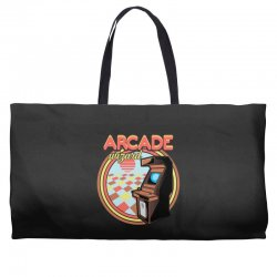 arcade wizard for dark Weekender Totes | Artistshot