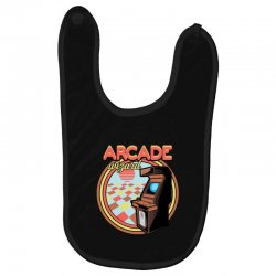 arcade wizard for dark Baby Bibs | Artistshot