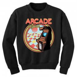 arcade wizard for dark Youth Sweatshirt | Artistshot