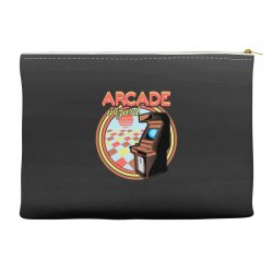 arcade wizard for dark Accessory Pouches | Artistshot