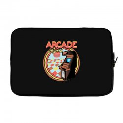 arcade wizard for dark Laptop sleeve | Artistshot