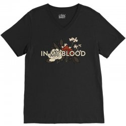 in my blood for dark V-Neck Tee | Artistshot