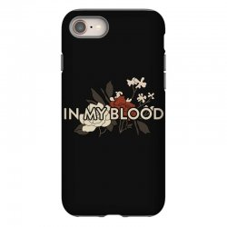 in my blood for dark iPhone 8 Case | Artistshot
