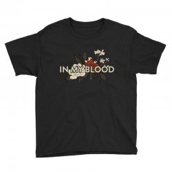 in my blood for dark Youth Tee | Artistshot