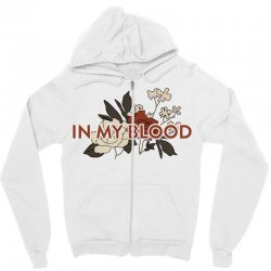 in my blood for light Zipper Hoodie | Artistshot