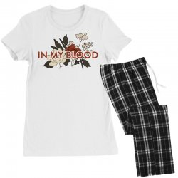 in my blood for light Women's Pajamas Set | Artistshot