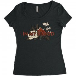 in my blood for light Women's Triblend Scoop T-shirt | Artistshot