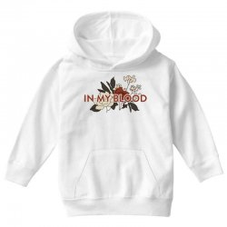 in my blood for light Youth Hoodie | Artistshot