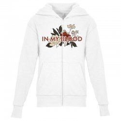 in my blood for light Youth Zipper Hoodie | Artistshot