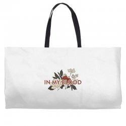 in my blood for light Weekender Totes | Artistshot