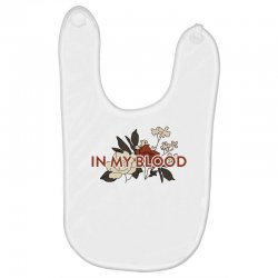 in my blood for light Baby Bibs | Artistshot