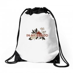 in my blood for light Drawstring Bags | Artistshot