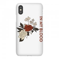 in my blood shawn mendes for light iPhoneX Case | Artistshot