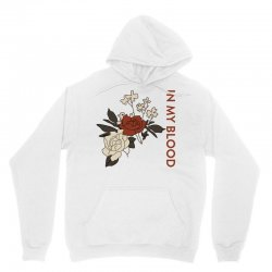 in my blood shawn mendes for light Unisex Hoodie | Artistshot