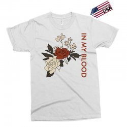 in my blood shawn mendes for light Exclusive T-shirt | Artistshot