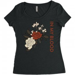 in my blood shawn mendes for light Women's Triblend Scoop T-shirt | Artistshot