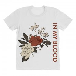 in my blood shawn mendes for light All Over Women's T-shirt | Artistshot