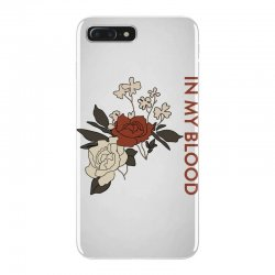 in my blood shawn mendes for light iPhone 7 Plus Case | Artistshot