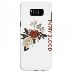 in my blood shawn mendes for light Samsung Galaxy S8 Case | Artistshot