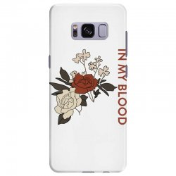 in my blood shawn mendes for light Samsung Galaxy S8 Plus Case | Artistshot