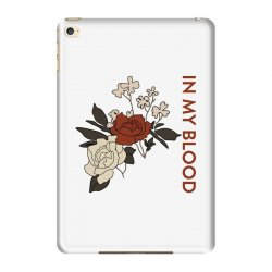 in my blood shawn mendes for light iPad Mini 4 Case | Artistshot