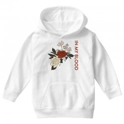 in my blood shawn mendes for light Youth Hoodie | Artistshot