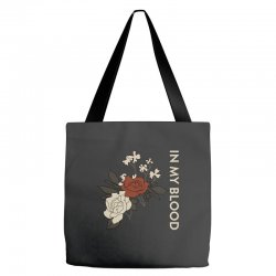 in my blood shawn mendes Tote Bags | Artistshot