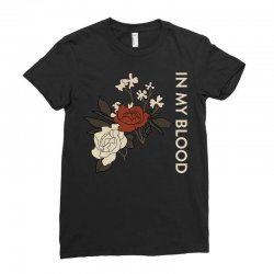 in my blood shawn mendes Ladies Fitted T-Shirt | Artistshot