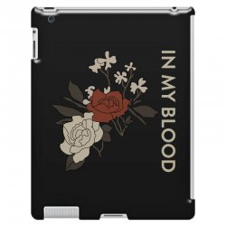 in my blood shawn mendes iPad 3 and 4 Case | Artistshot