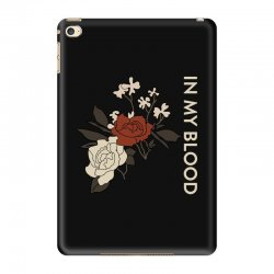 in my blood shawn mendes iPad Mini 4 Case | Artistshot