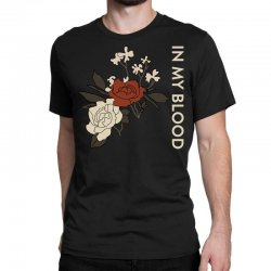 in my blood shawn mendes Classic T-shirt | Artistshot