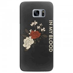 in my blood shawn mendes Samsung Galaxy S7 Edge Case | Artistshot