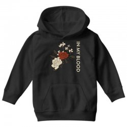 in my blood shawn mendes Youth Hoodie | Artistshot